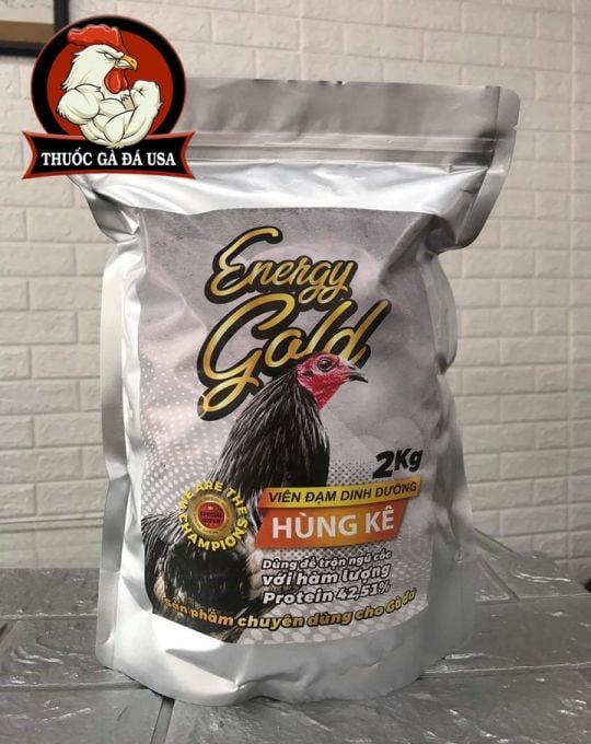 Cám Hùng Kê ENERGY GOLD 42 Túi 2Kg