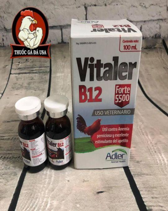 Vitaler B12 5500 Cho Gà Đá - Chai  Chiết 10ml