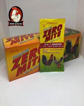 Xà Bông Tắm Cho Gà Zero Mite - Hộp x 24 Gói