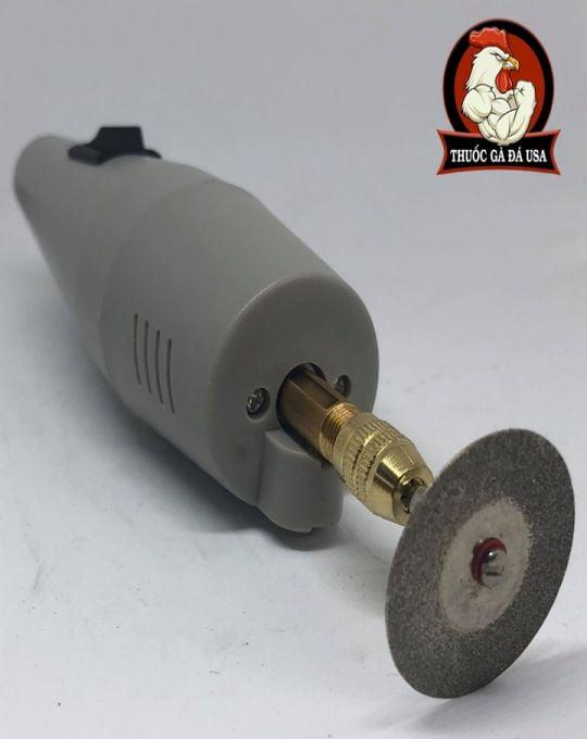 Máy Cắt Cựa Gà Chạy Điện - Tặng Kèm 1 Lưỡi Cắt