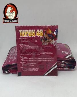 TEPOX 48 CHUYÊN ĐƯỜNG RUỘT CHO GÀ - LẺ 10 GÓI